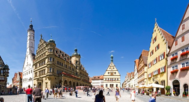Rothenburg panorama