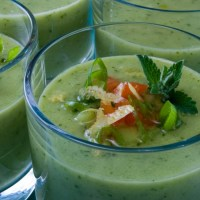 Spicy Cucumber Gazpacho