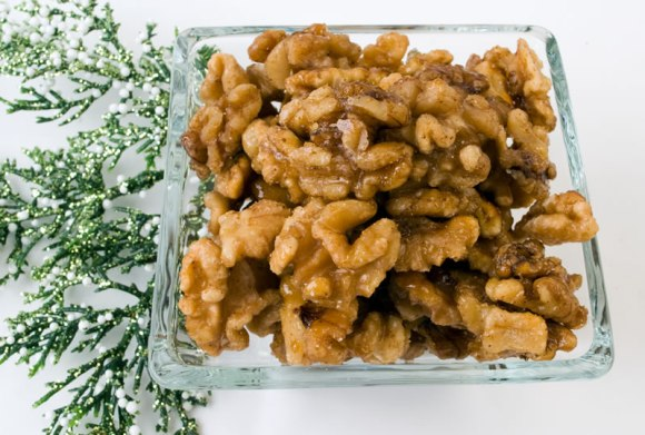 Fresh Candied Walnuts Candied Spiced Walnuts or Pecans