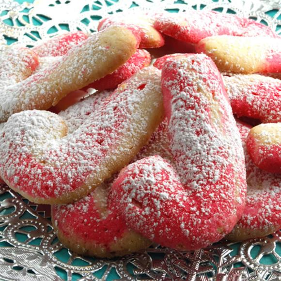 Lead Candy Cane Butter Cookies