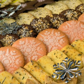 Twelve Days of Christmas Cookies: Starry Night