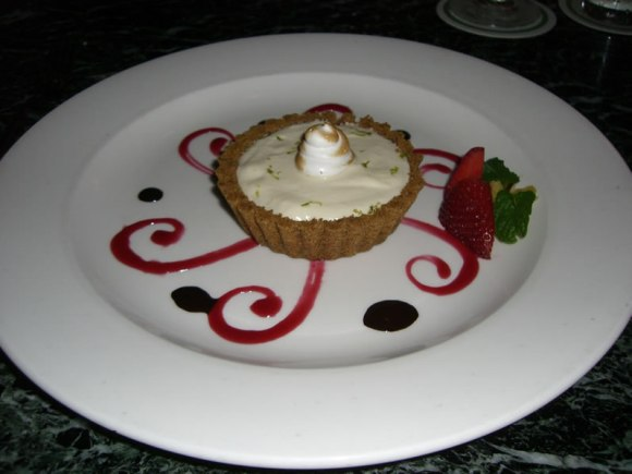 Lahaina Grill Iao Valley Lime Tart in a MacadamiaNut Graham Cracker Crust Maui Sweet