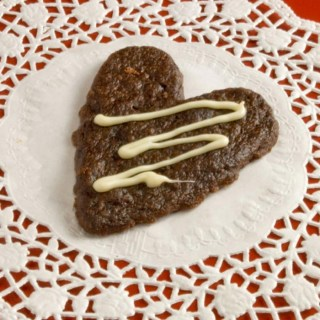Mexican Hearts of Fire Cookies