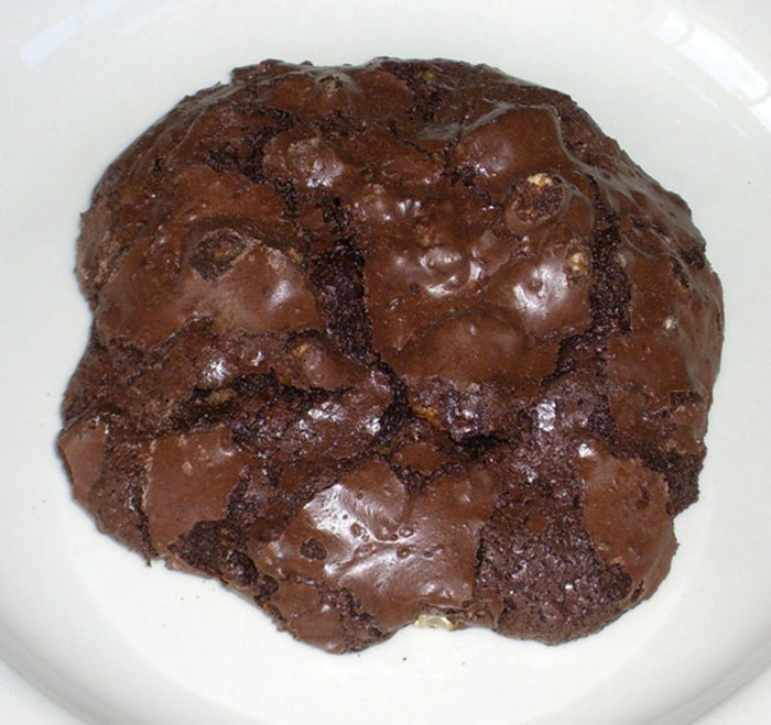 Nuvrei's Flourless Chocolate Cookie