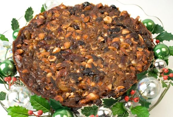 First version on a plater1 Panforte di LunaCafe: Tis the Season