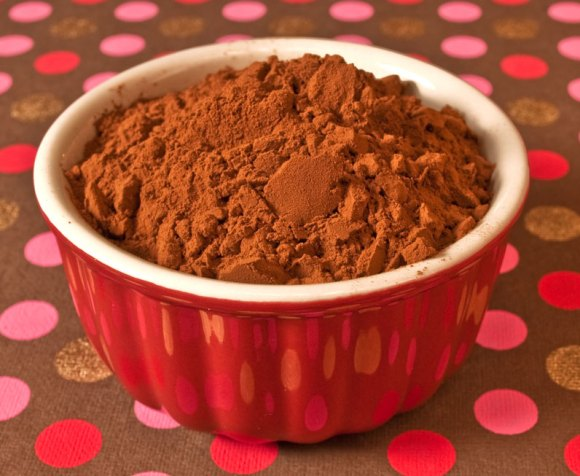 Cocoa Powder in bowl The Wonderful World of Unsweetened Cocoa Powder