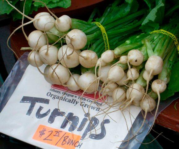 Turnips Northwest Fresh: Portland Farmers Market Spring 2009