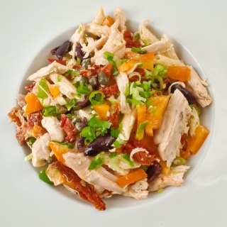 Spicy Penne & Chicken Salad with Chipotle Lime Dressing
