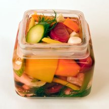 Italian Giardiniera in the Jar
