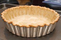 Partially Baked Flaky Short-Crust Pastry