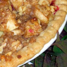 Deep Dish Apple Cranberry Pie sq Christmas Favorites: Silver Moon