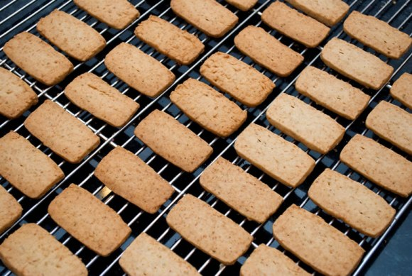 On the Rack Coconut Vanilla Lime Shortbread