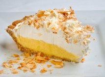 Toasted Coconut White Chocolate Dream Pie