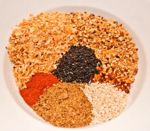 Dukka ingredients Egyptian Dukka (Dukkah)