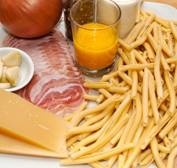 Ingredients Pasta Carbonara Perfecta Mundo