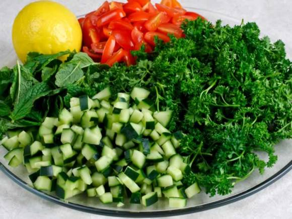 Ingredients 1 My Tabouleh