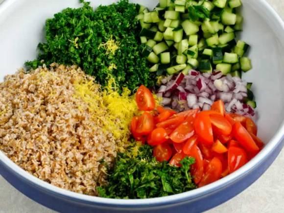 Ingredients 23 My Tabouleh