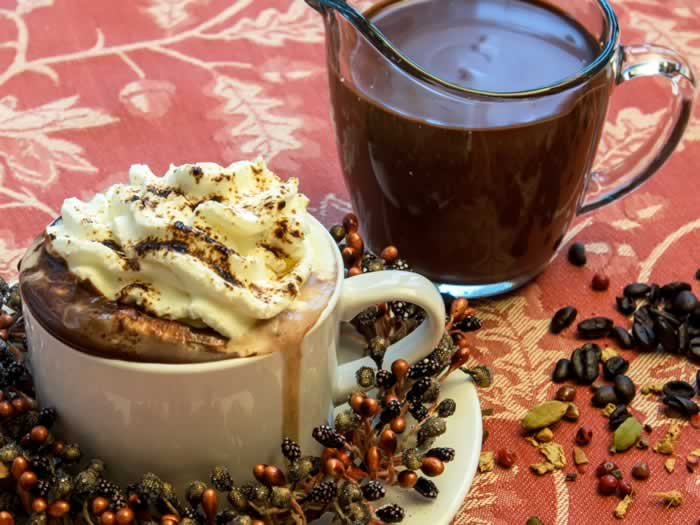 Heavenly Hot Chocolate Mix--with Seven Variations