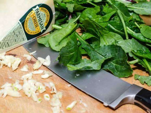Cavatelli Pasta Ingredients Ricotta Cavatelli with Toasted Walnuts & Baby Greens
