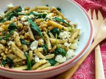 Ricotta Cavatelli with Toasted Walnuts & Bitter Greens