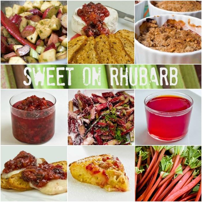 Fresh Rhubarb Roundup | LunaCafe