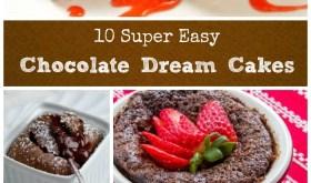 Chocolate Dream Cakes Collage