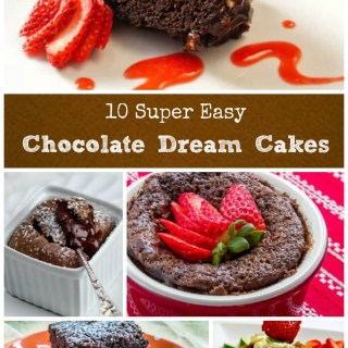 Chocolate Dream Cakes Collage