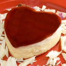 LunaCafe's Luscious White Chocolate & Raspberry Rose Petal Cheesecake for Valentine's Day