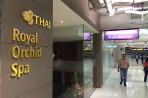 Royal Orchid Spa - Entrance