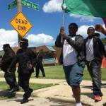 Eighth Graders Peacefully March for a Non-Violent Summer