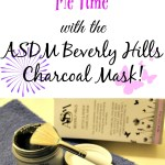 """Me Time"" with the Charcoal Mask from ASDM Beverly Hills"