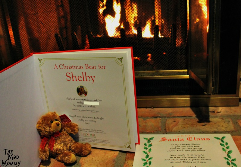 Imagine the look of joy on your little ones face when they find a bear, created just for them, on Christmas morning!