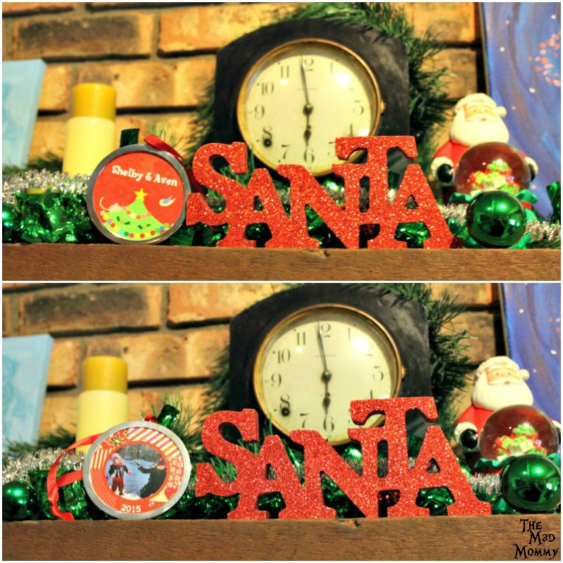 ISEEME Books also has a variety of adorable Christmas ornaments that you can have personalized for your Christmas tree or to give away as gifts!