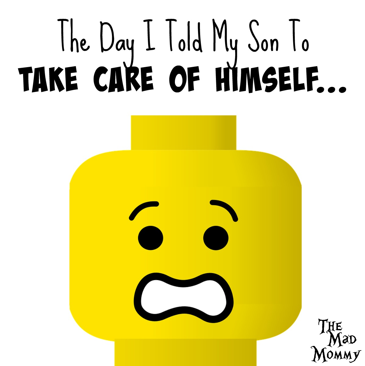 Sometimes, you just have to tell your kids to take care of themselves!