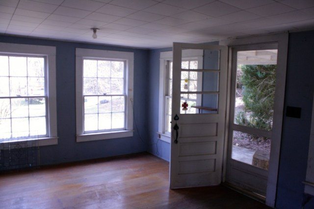 The Front Room will soon be painted white