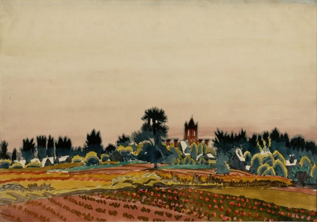 Past Noon, Charles November Sun Emerging, Charles Burchfield