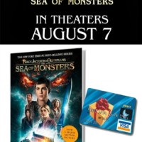 PERCY JACKSON: SEA OF MONSTERS & a $30 Visa G.C. Giveaway