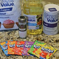 A Mama Report Feature: Homemade Kool-Aid Playdough
