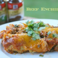 Celebrate Hispanic Heritage Month with Delicious Beef Enchiladas & a Giveaway