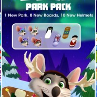 Take the Yeti River Run on Chuck E. Cheese's Skate Universe App