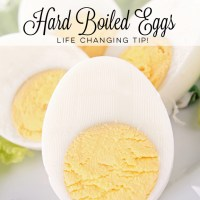 A Whole New Way to Make Hard Boiled Eggs - Life Changing Tip!