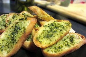 Garlic + Bread = Love