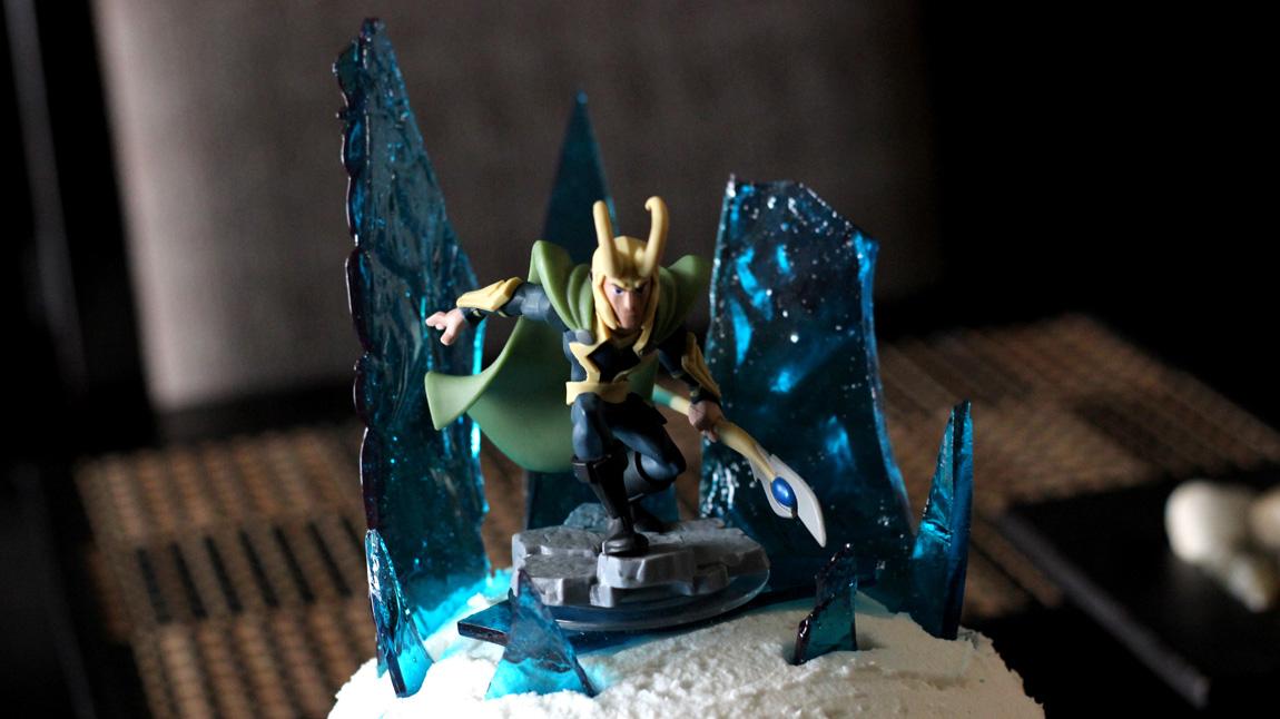 The 5th Birthday Cake: Loki's Tower