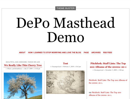 DePo Masthead WordPress Theme