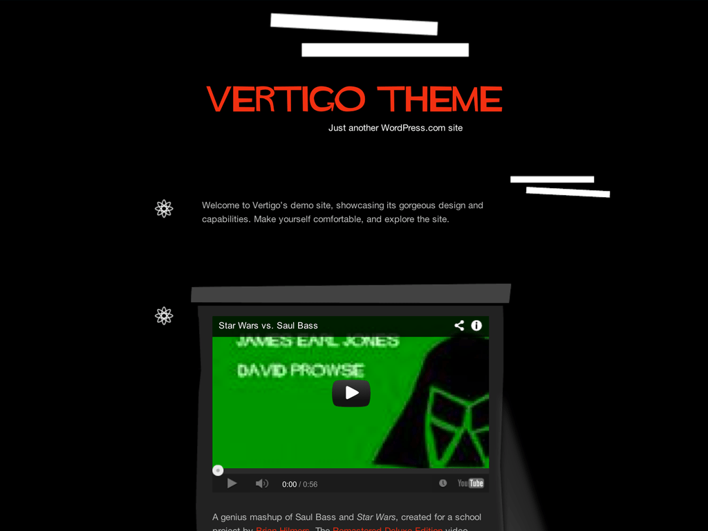 Vertigo WordPress Theme