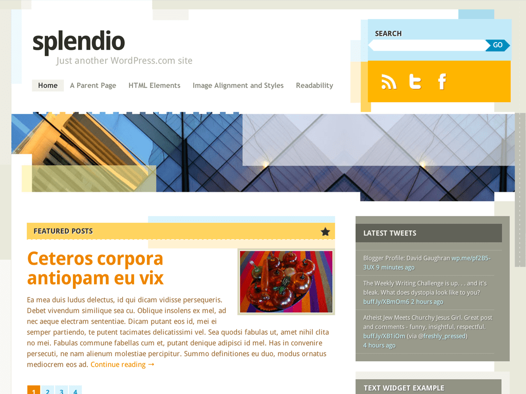 Splendio WordPress Theme