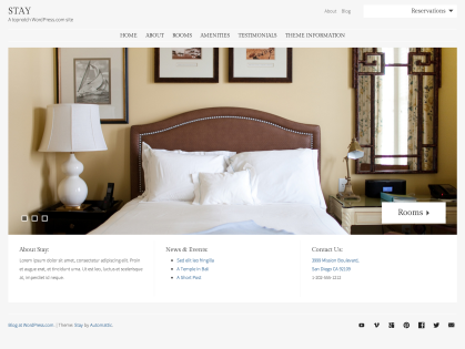 Stay WordPress Theme