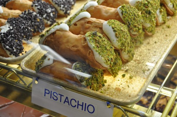 The sweet taste of freedom -- pistachio cannoli from Mike's Pastry in Boston's North End
