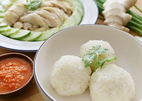 Samsui chicken rice recipe