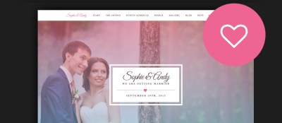 60+ Best HTML Wedding Website Templates 2017